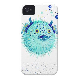 Neptun Pufferfish Case-Mate iPhone 4 Hülle