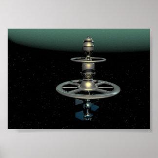 Neptun-Sonde Posterdrucke