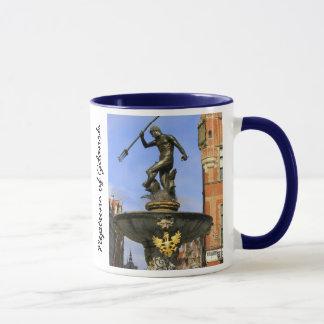 Neptun-Statue Tasse