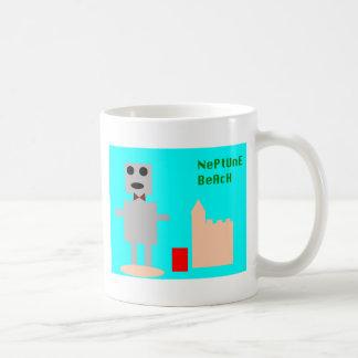 Neptun-Strand-Roboter 1 Kaffeetasse