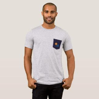 Neptun-Turm-Taschen-T-Stück T-Shirt