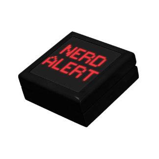 Nerd-Alarm Erinnerungskiste