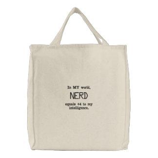 Nerd entspricht Tasche
