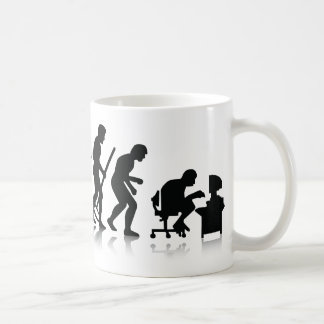 Nerd-Evolution Kaffeetasse