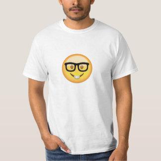 Nerd-Gesicht Emoji T-Shirt