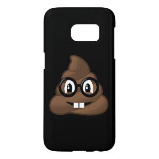 Nerd-Gläser kacken Emoji