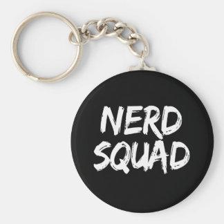 Nerd-Gruppe-Druck Schlüsselanhänger