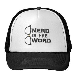 Nerd ist das Wort Kappe