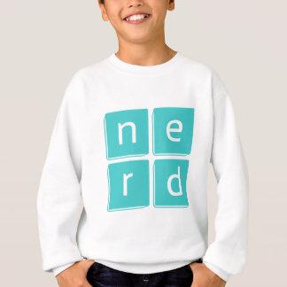 Nerd ist das Wort Sweatshirt
