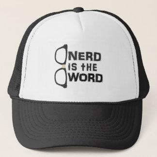 Nerd ist das Wort Truckerkappe
