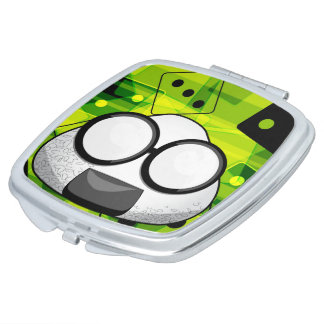 Nerd-Japaner Riceball Taschenspiegel