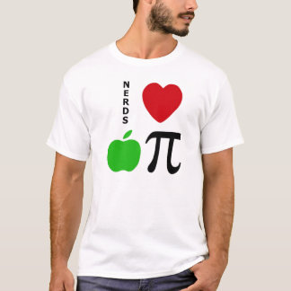 Nerd-Liebe-Apfelkuchen T-Shirt