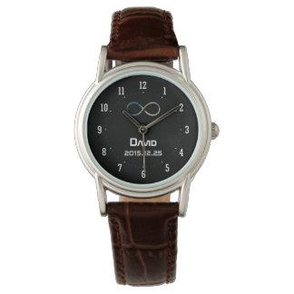 Nerd Personalizable Unendlichkeits-  Armbanduhr