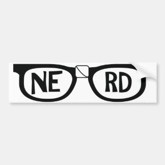 Nerd-Stolz Autoaufkleber