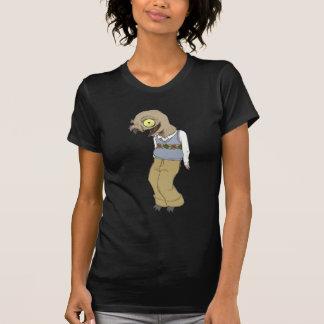 Nerd-Vogel ist das Wort T-Shirt