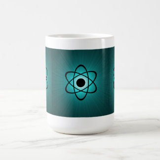 Nerdy AtomTasse, aquamarin Kaffeetasse