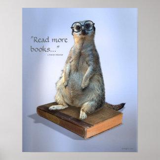 Nerdy Hipster Meerkat, Zitate Poster