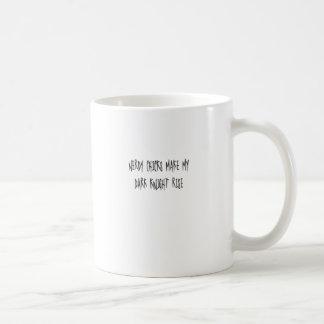 Nerdy Küken lassen meinen dunklen Ritter steigen Kaffeetasse