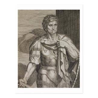 Nero Claudius Caesar Kaiser von ANZEIGE Roms 54-68 Postkarte