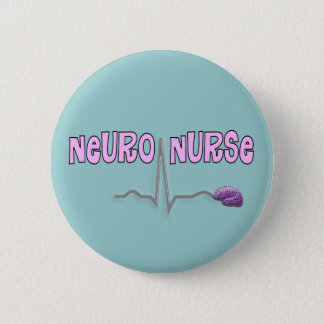 Nerven Krankenschwester-Knopf Runder Button 5,7 Cm