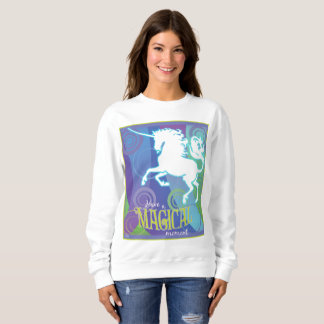 Nerz-Modus-magisches Einhorn-Damen-Sweatshirt 2017 Sweatshirt