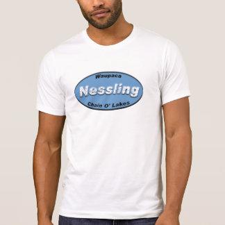 Nessling Kfz-Kennzeichen-Blau T-Shirt