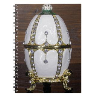 Nest der Perleneier Spiral Notizblock