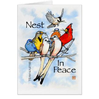 Nest im Frieden:  Team Kaspari Karte