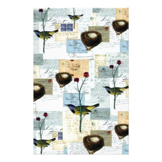 Nester und Vögelchen Briefpapier