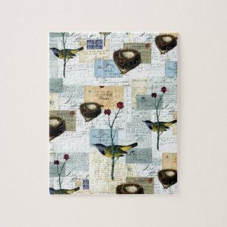 Nester und Vögelchen Puzzle