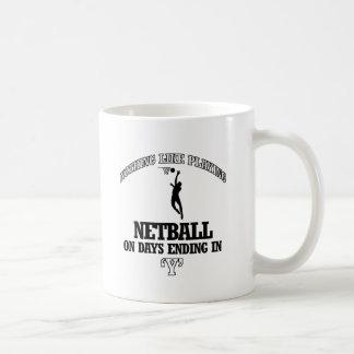 NETBALL-Entwürfe Kaffeetasse