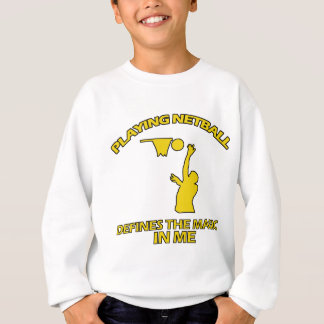 Netball ENTWÜRFE Sweatshirt