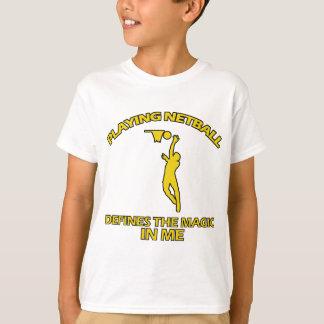 Netball ENTWÜRFE T-Shirt