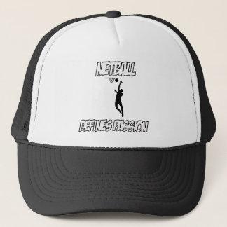 NETBALL-Entwürfe Truckerkappe