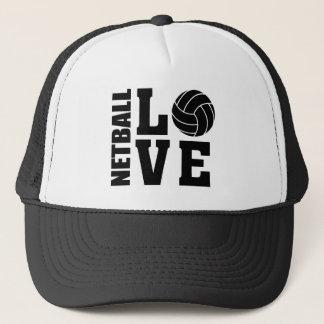 NETBALL-LIEBE Netball Truckerkappe