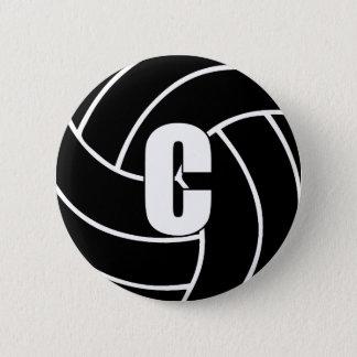 Netball Mittelc Runder Button 5,7 Cm