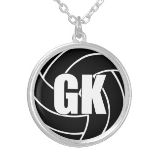 Netball-Spieler-Position, Ziel-Wächter GK Versilberte Kette