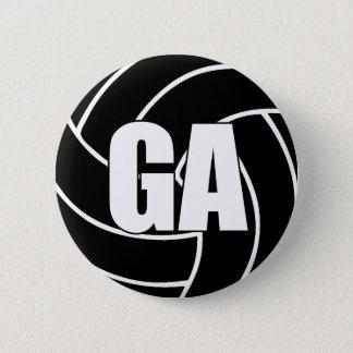 Netball-Ziel-Angriff GA Runder Button 5,1 Cm
