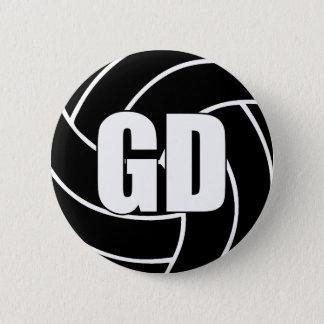 Netball-Ziel-Verteidigung GD Runder Button 5,1 Cm