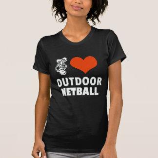 Netballentwurf T-Shirt