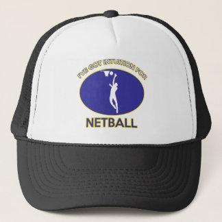 Netballentwurf Truckerkappe
