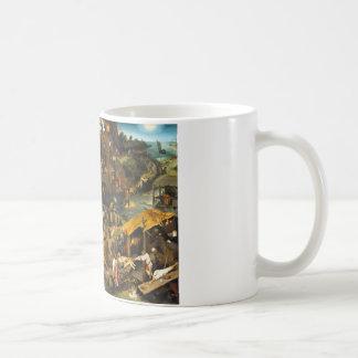 Netherlandish Sprichwörter durch Pieter Bruegel Kaffeetasse