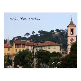 Nett, Côte d'Azur Postkarte