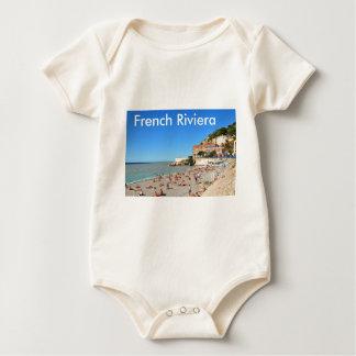 Nett. Französisches Riviera Baby Strampler