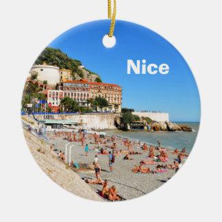 Nett. Französisches Riviera Keramik Ornament