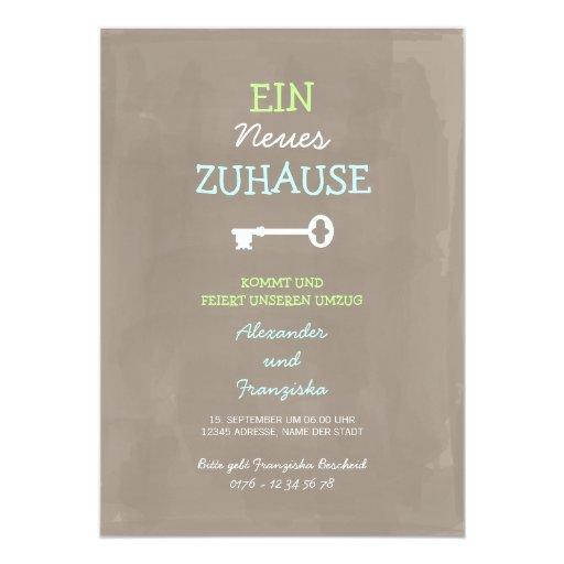 Nette Einweihungsparty Einladung | Zazzle