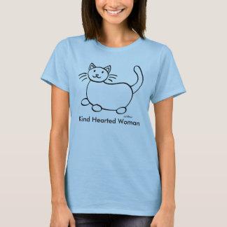 Nette Hearted Frauenkrebs-T - Shirts