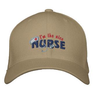 Nette Krankenschwester Bestickte Baseballkappe