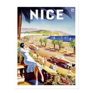Nette Plakat-Postkarte Postkarte