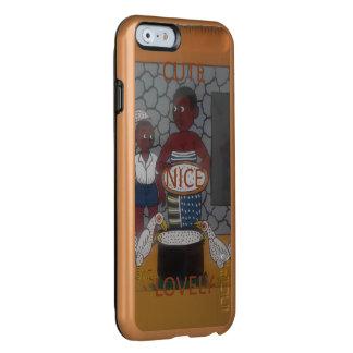 Nette reizende afrikanische Farben der Incipio Feather® Shine iPhone 6 Hülle